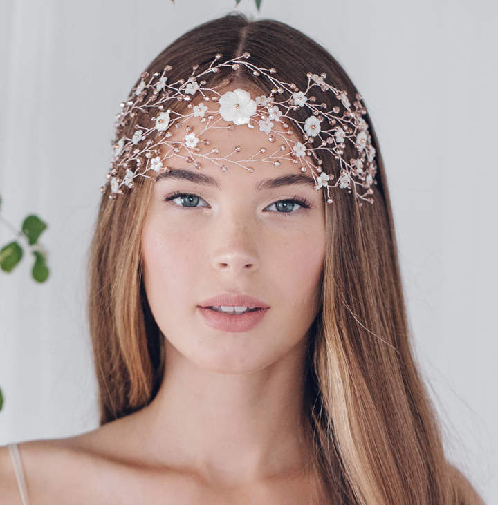 Carlisle Debbie Large Statement Bohemian Wedding Headpiece Katya