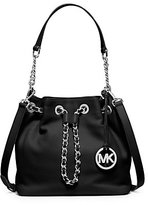 Michael Kors Frankie Medium Leather Messenger