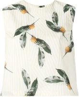 Cacharel pineapple print top