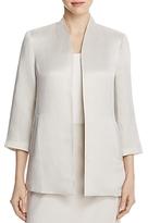 Eileen Fisher Three Quarter Sleeve Long Jacket