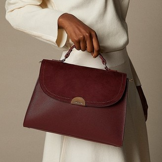 Love & Lore Love And Lore Spencer Flap Satchel Auburn
