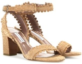Tabitha Simmons Leticia Suede Sandals