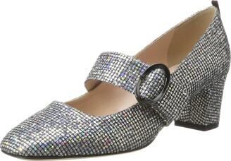 Sarah Jessica Parker Women's Tartt Round Toe Mary Jane Block Heel