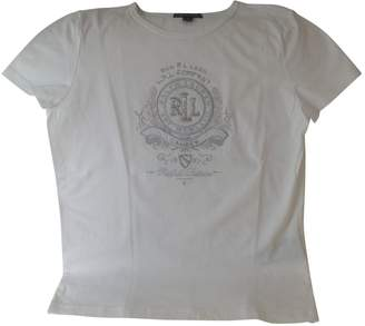 Lauren Ralph Lauren White Cotton Top for Women