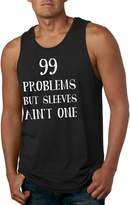 Crazy Dog T-shirts Crazy Dog Tshirts 99 Probems But Seeves Ain't One Tank Top Funny Musces Tee