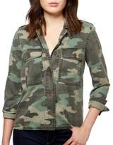 Lucky Brand Camouflage Long-Sleeve Jacket