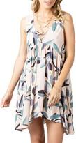 Rip Curl Palm Bay Lace Neck Sleeveless Minidress