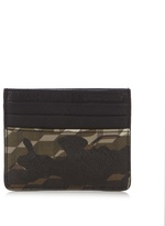 Pierre Hardy Cube And Camouflage-print Cardholder