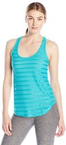 Pink Lotus Women's Small Wonder Lily Banded Racer Back Tank Top