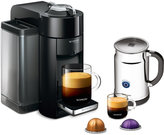 Nespresso Evoluo Deluxe Bundle Single Serve Brewer & Espresso Maker + Milk Frother