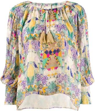 CHUFY Inka tasseled blouse