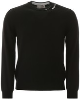 Alexander Mcqueen Alexander McQueen Pullover With Embroidered Logo Patch