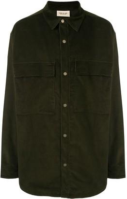 Fear Of God Chest Pockets Shirt Jacket