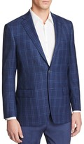Hart Schaffner Marx Plaid Classic Fit Sport Coat - 100% Bloomingdale's Exclusive