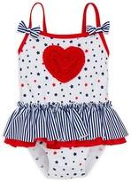 Little Me Girls' Stars & Stripes Swimsuit - Baby