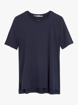 Oasis Step Hem Short Sleeve T-Shirt