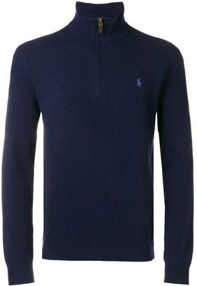 Polo Ralph Lauren half-zip logo sweater