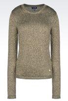 Armani Jeans Lurex Sweater