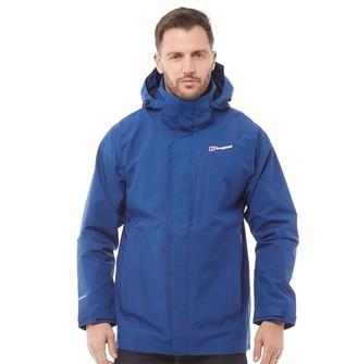 Berghaus Mens Hillwalker Long 2 Layer GORE-TEX Shell Jacket Blue/Blue
