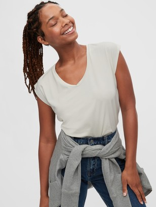 Gap Short Sleeve Scoopneck T-Shirt