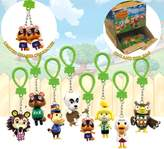 Nintendo Officially Licensed Kid's Animal Crossing Backpack Buddies Bag Clips