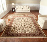 Km Home Closeout! Km Home Florence Kashan Ivory/Brick 4-Pc. Rug Set