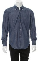 Our Legacy Embroidered Button-Up Shirt