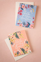 BHLDN Blooming Thank You Card
