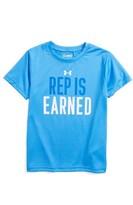 Under Armour Toddler Boy's Rep Is Earned Heatgear T-Shirt