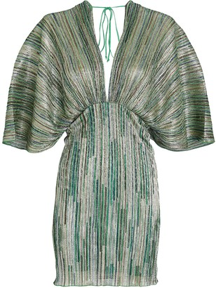 Rotate by Birger Christensen Ester Draped Mini Dress