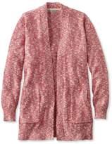 L.L. Bean Cotton Ragg Sweater, Open Cardigan