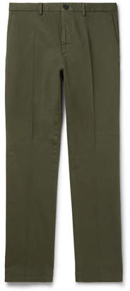 Incotex Slim-Fit Cotton-Blend Twill Trousers