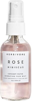 Herbivore Botanicals Travel Rose Hibiscus Facial Mist