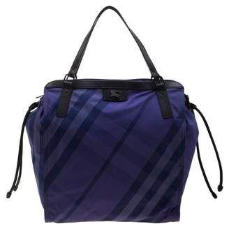 Burberry Purple Cloth Handbags