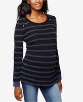 A Pea in the Pod Maternity Striped Sweater