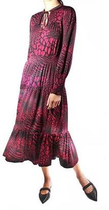 MICHAEL Michael Kors Animal Print Ellip Dress