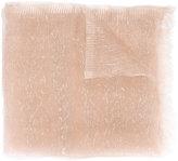 Faliero Sarti metallic weave scarf