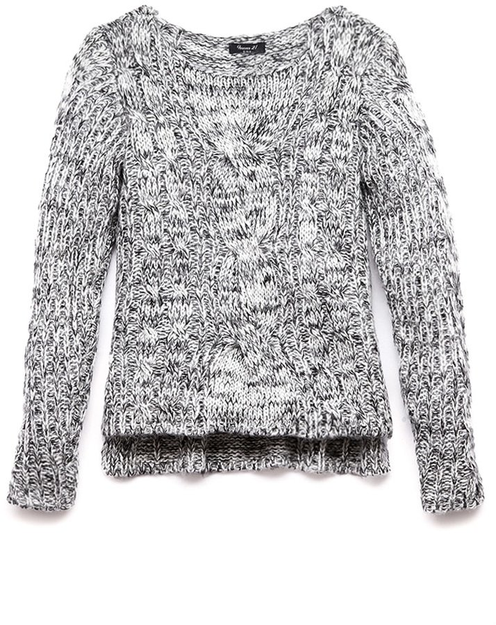 Forever 21 Girls Favorite Chunky Knit Sweater (Kids)