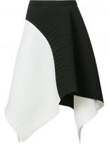 Proenza Schouler pleated asymmetric skirt