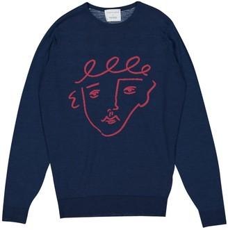 John Smedley Blue Wool Knitwear for Women