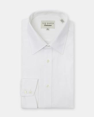 Ted Baker Cotton Semi Plain Shirt