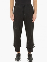 Y-3 Black Relaxed Cotton Sweatpants