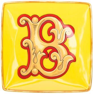 Versace Home Alphabet 'B' plate (11cm)