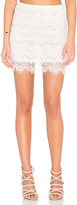 Indah Cheryl Lace Mini Skirt