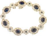 One Kings Lane Vintage Ciner Faux-Sapphire Bracelet