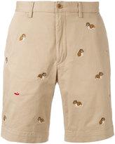 Polo Ralph Lauren bulldog embroidery chino shorts
