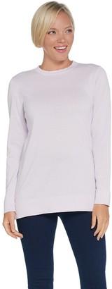 Martha Stewart Crew Neck Long Sleeve Sweater