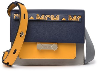 MCM Small Milano Leather Shoulder Bag