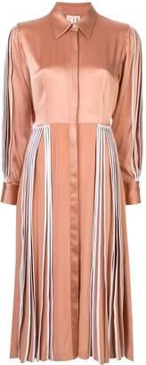 BODICE pleated shirt dress