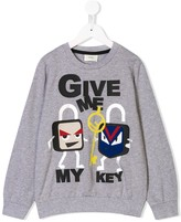 Fendi give my key sweatshirt